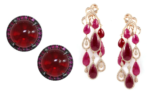 Earring-silhouettes-studs-chandelier